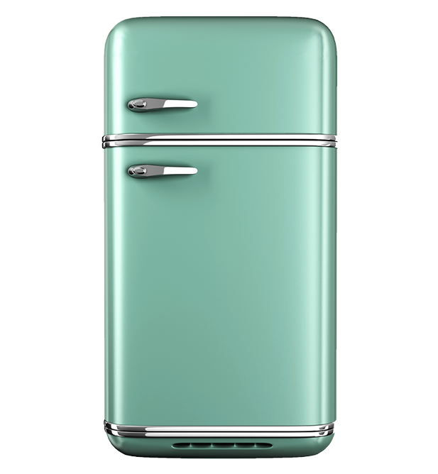 Two refrigerators: too costly!